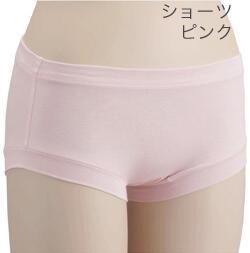【竹布】 TAKEFU ショーツ、M、ピンク