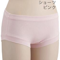 【竹布】 TAKEFU ショーツ、L、ピンク