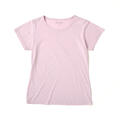 【竹布】 TAKEFU 半袖Tシャツ・レディース、L、ラベンダー(# 8262)