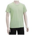 【竹布】 TAKEFU 半袖Tシャツ・メンズ、M、ライトグリーン(# 8267)