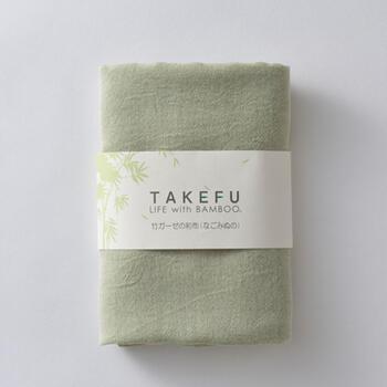 【竹布】 TAKEFU 和布(なごみぬの)、45x125cm、若竹