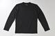 【竹布】 TAKEFU 長袖Tシャツ・メンズ、L、ブラック(# 8313)4,500 円