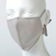 【竹布】 TAKEFU うるおいマスク、フリー、薄墨(# 8321)1,000 円