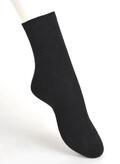【竹布】 TAKEFU ソックス・レディース、23〜25cm、ブラック(# 8327)