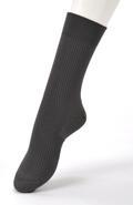 【竹布】 TAKEFU ソックス・メンズ、25〜27cm、グレー(# 8329)