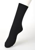 【竹布】 TAKEFU ソックス・メンズ、25〜27cm、ブラック(# 8330)
