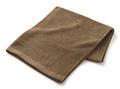 【竹布】 TAKEFU バスタオル(パイル)、70x140cm、ブラウン(# 8337)