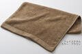 【竹布】 TAKEFU フェイスタオル(パイル)、35x88cm、ブラウン(# 8338)