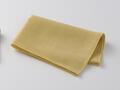 【竹布】 TAKEFU 清布(すがしぬの)ガーゼハンカチ、39x30cm、山吹(# 8347)