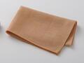 【竹布】 TAKEFU 清布(すがしぬの)ガーゼハンカチ、39x30cm、洗柿(# 8348)