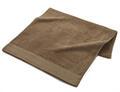 【竹布】 TAKEFU タオルケット(パイル)、140x200cm、ブラウン(# 8362)