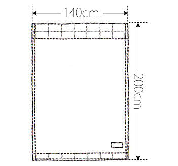 【竹布】 TAKEFU タオルケット(パイル)、140x200cm、ブラウン