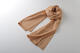 【竹布】 TAKEFU 清布(すがしぬの)ガーゼショール、約68x190cm、洗柿(# 8365)4,800 円