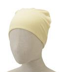 【竹布】 TAKEFU 癒布(ゆふ)  ワッチキャップ、フリーサイズ(頭周り:54〜60cm)、クリーム(# 8430)