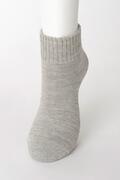 【竹布】 TAKEFU 裏パイルソックス(男女兼用)、25〜27cm、グレー(# 8437)