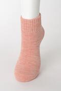 【竹布】 TAKEFU 裏パイルソックス(男女兼用)、25〜27cm、ピンク(# 8439)
