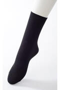 【竹布】 TAKEFU ソックス(男女兼用)、22〜24cm、ブラック(# 8496)
