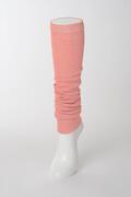 【竹布】 TAKEFU レッグウォーマー、杢ピンク、フリー(# 8517)