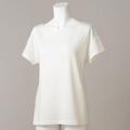 【竹布】 TAKEFU ★半袖Tシャツ・レディース、オフホワイト、L(# 8560)
