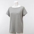 【竹布】 TAKEFU ★半袖Tシャツ・レディース、グレー、L(# 8564)