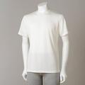 【竹布】 TAKEFU ★半袖Tシャツ・メンズ、オフホワイト、L(# 8568)