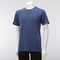 【竹布】 TAKEFU ★半袖Tシャツ・メンズ、ネイビー、M(# 8569)