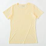 【竹布】 TAKEFU 半袖Tシャツ・レディース、M、クリーム(# 8622)3,800 円