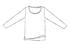【竹布】 TAKEFU サイドスリット長袖Tシャツ・レディース、L〜LL、スミレ(ピンク系)