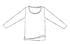 【竹布】 TAKEFU サイドスリット長袖Tシャツ・レディース、M〜L、アッシュ(チャコール系)