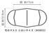 【竹布】 TAKEFU 竹の布マスク、オフホワイト、小さめサイズ(12.5cm 17cm)
